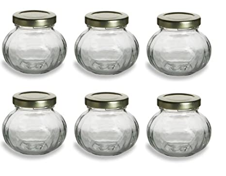 4oz Round Mini Jam Jars