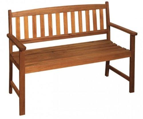 Gartenbank 2-Sitzer Eukalyptus FSC Holz, geölt