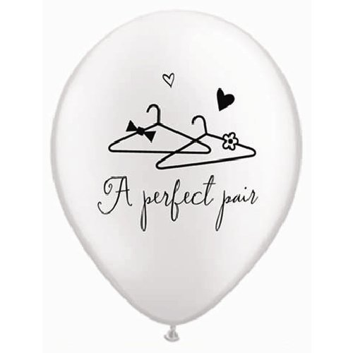 13 pc Perfect Pair Lips & Mustache Balloon Bouquet Wedding Bridal Shower Party by Jeckaroonie Balloons (Image #4)
