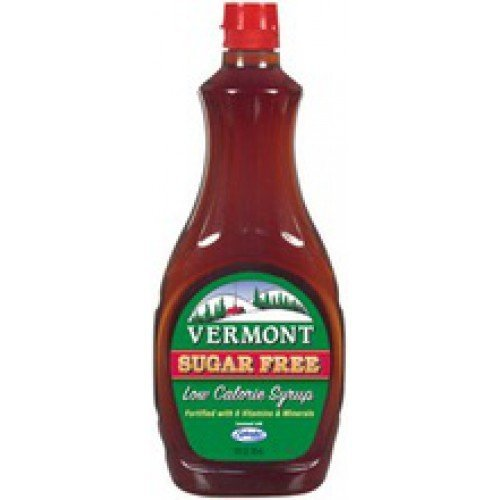 Vermont Sugar Free Maple Syrup - Vermont Sugar Free Low Calorie Syrup, 12 oz