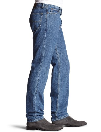 LEE Men's Relaxed Fit Straight Leg Jean, Pepperstone, 38W x 29L by LEE (Image #3)