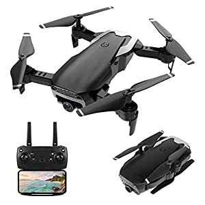 Flashandfocus.com 41GlT5u8sAL._SS300_ HR Drone With 720P HD Camera,Drone For Kids,Adults And Beginners,Foldable Quadcopter With Altitude Hold,Draw Path,2…
