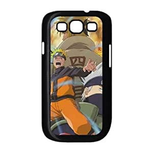 Samsung Galaxy s3 9300 Black Cell Phone Case Naruto TGKG597979