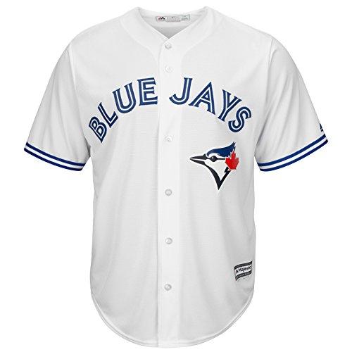 Majestic Athletic Replica Alternate Jersey - Toronto Blue Jays Home Cool Base Replica Jersey (XXL)