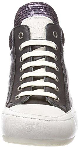 Candice Cooper Vitello, Sneaker a Collo Alto Donna Nero (Nero)