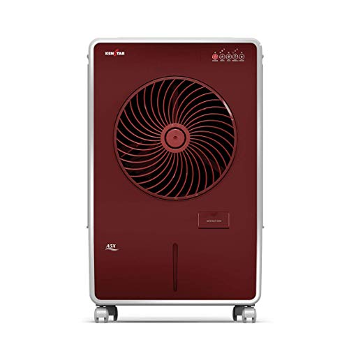 KENSTAR A5X 50Litre Air Cooler with Honeycomb Cooling Pads (Red and White)