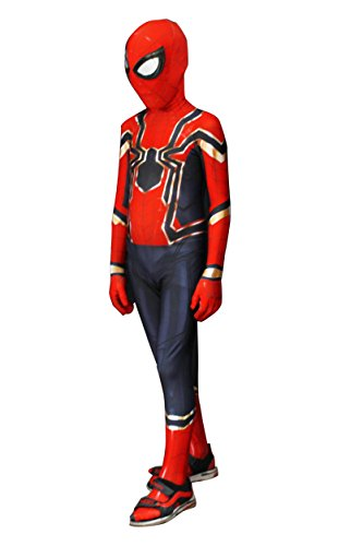 Halloween Costume for Child Party Dress up Boys Tight Spider (Spider Boy Costume)