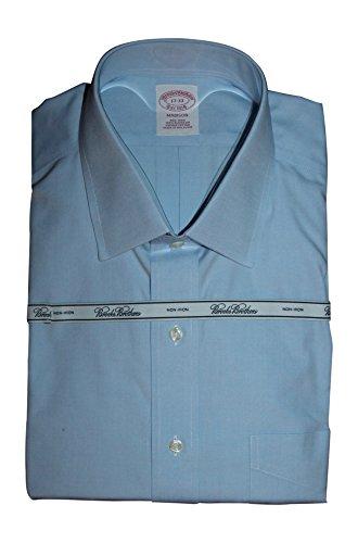 Brooks Brothers Mens Long Sleeve Slim Fit Dress Shirt (17x33,