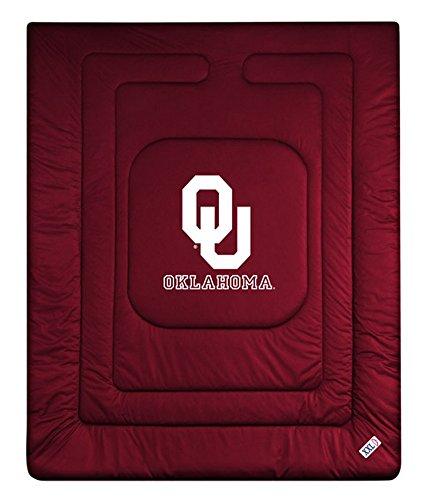Sports Coverage 04JRCOM4OKUTWIN Locker Room Oklahoma Sooners Twin Comforter, (Oklahoma Full Comforter Sooners)