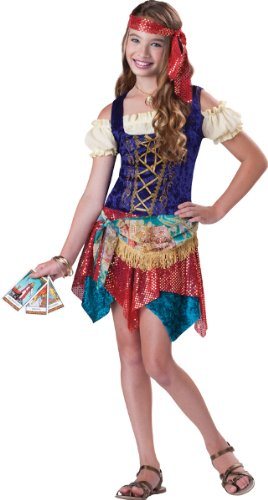 Scary Gypsy Halloween Costume (Costumes For All Occasions IC18035MD Gypsys Spell Medium 10-12)