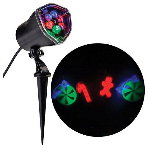 Gemmy LED Light Show Projector Red/Blue 4 Lights Gemmy Industries 80751