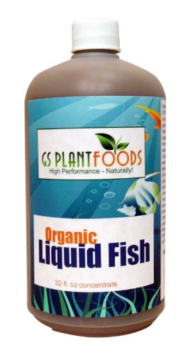 Organic Hydrolyzed Liquid Fish Fertilizer