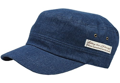 Denim Urban Army Cap