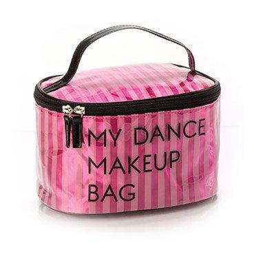 YOFI Cosmetics My Dance Makeup Bag |Large Pink