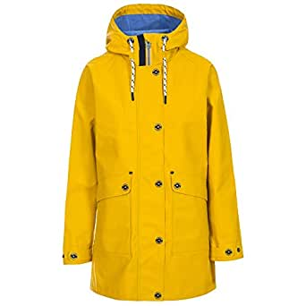 Trespass Womens/Ladies Shoreline Rain Jacket (UK Size: XXS) (Yellow)