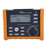 PM5203 Digital Resistance Meter 1000V Insulation Megohm Tester Resistance Megger AC/DC Voltage Tester with LCD Backlight Display