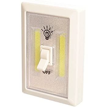 Promier Light Switch Battery Operated Cordless Light Super