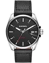 Men's DZ1862 MS9 Analog Display Quartz Black Watch