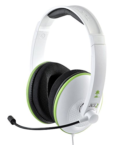 Turtle Beach Ear Force XL1 Amplified Wired Headset with Mic (White) – Xbox 360 Review