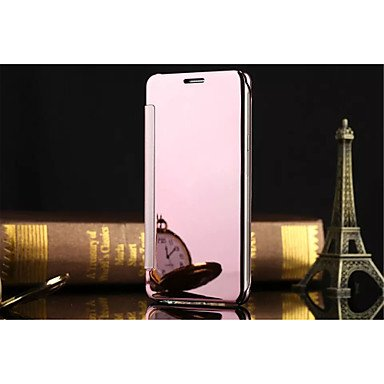 Luxury Clear View Mirror Flip Smart Case Cover For Samsung Galaxy A5/A7/A8/A9/A3(2016)/A5(2016)/A7(2016)/A910...