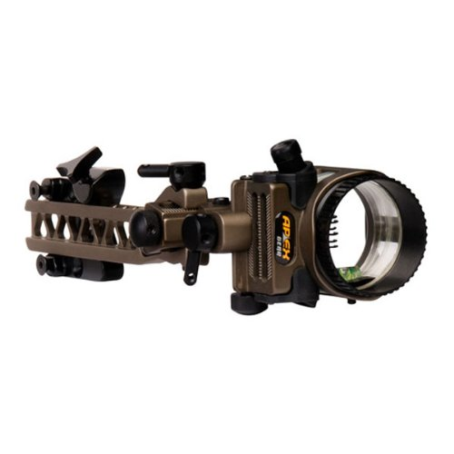 "Apex Gear Axim 6-Pin Sight .010"" Detachable Bracket Bronze"