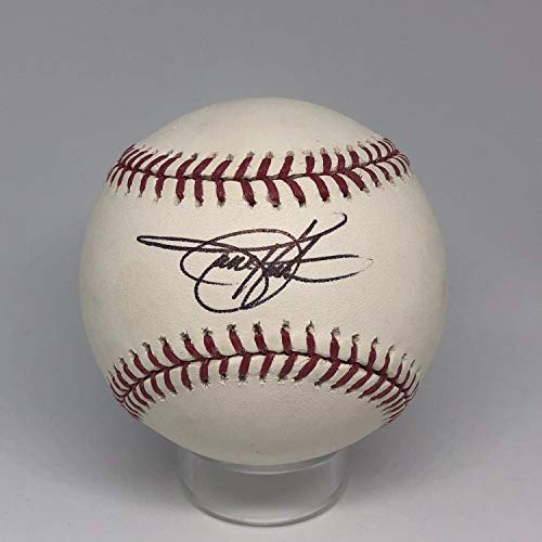 (Todd Helton Autographed Signed Memorabilia Rawlings Oml Baseball JSA Rockies HOF A521)