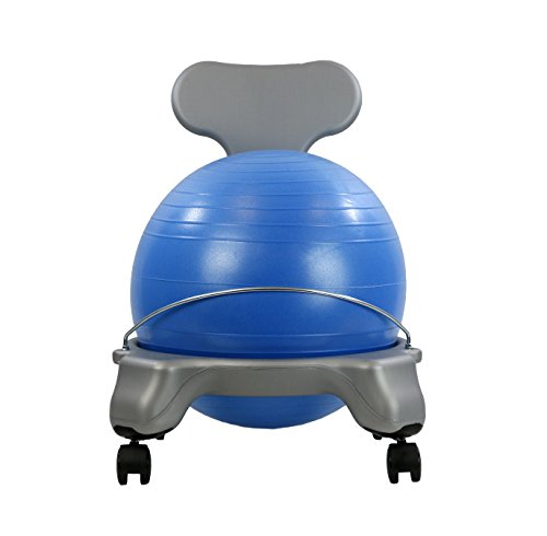 CanDo Plastic Mobile Ball Chair, Child Size, 15'' by Cando (Image #2)