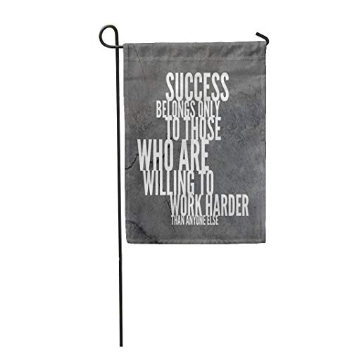 Semtomn Garden Flag 28x40 Inches Print On Two Side Polyester Amazing Inspirational and Motivational Saying Awesome Home Yard Farm Fade Resistant Outdoor House Decor -