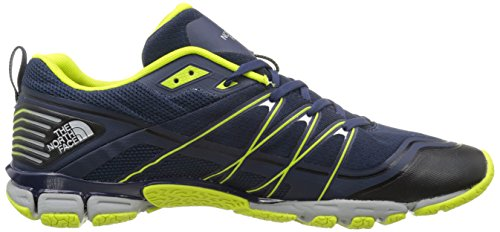 The North Face M Litewave Ampere, Chaussures de Fitness homme, Bleu (Cosmic Blue/Lantern Green), 43 EU