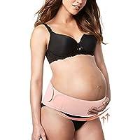 zjchao Cinturón de Embarazo, Apoyo Abdominal y Lumbar para Mujeres Embarazadas, elástico, cómodo