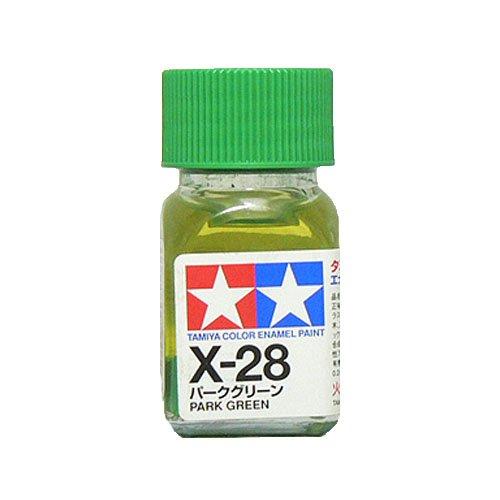エナメル X-28 パークグリーン