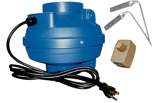 Suncourt VS108-CRD 8 in. Variable Speed Fan with Cord Control Kit by Suncourt