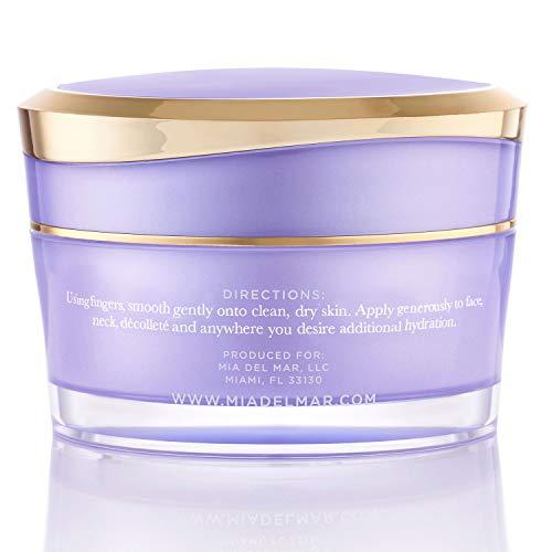 41Gla9QQrwL - Overnight Miracle Glow Night Cream - Anti-Aging Retinol, Moisturizing Hyaluronic Acid, Jojoba Oil & Squalane Help Hyperpigmentation, Oil and Acne-Prone Skin. Vegan And Clean Skin Care.