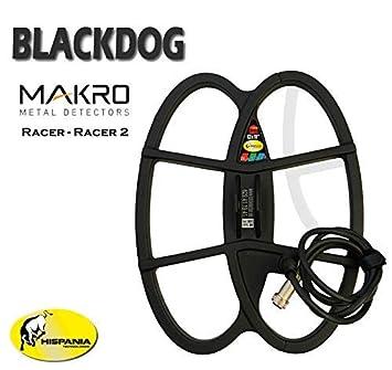 Hispania Technologies Plato Black Dog para Detector de Metales Makro Racer y Racer 2: Amazon.es: Jardín
