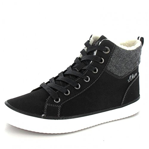 s`Oliver Sneaker high , Farbe: schwarz