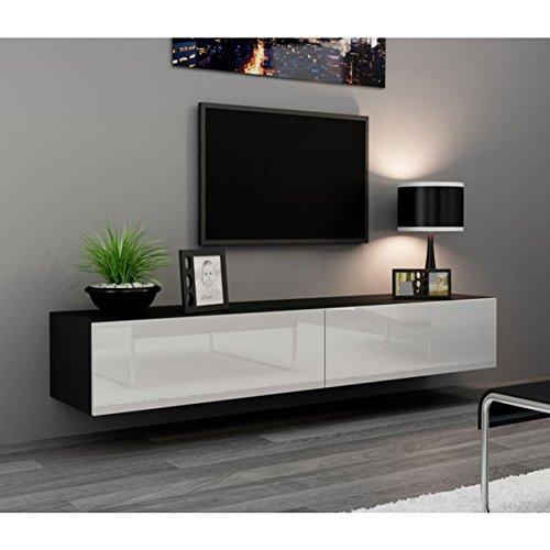 Seattle TV Stand - High Gloss White TV Stand / European Desi