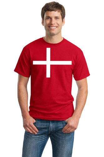 DENMARK NATIONAL FLAG Unisex T-shirt / Danish, Copenhagen Tee