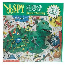 - I Spy - Monster Workshop Jigsaw Puzzle