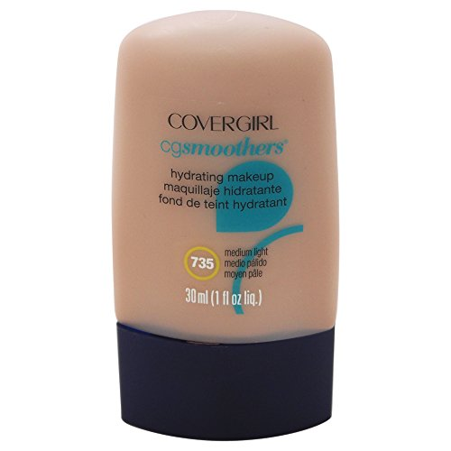 COVERGIRL Smoothers Hydrating Makeup Medium Light, 1 oz (packaging may vary)