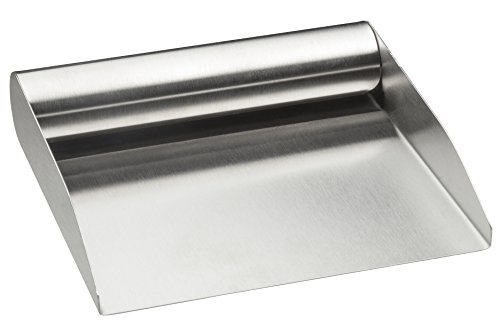 (HIC Harold Import 18/8 Stainless Steel Food Scoop, 6-Inch)