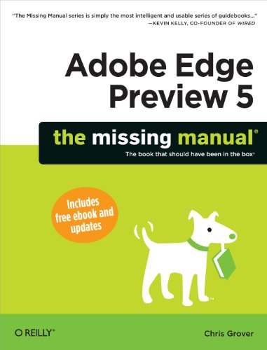 Download Adobe Edge Preview 5: The Missing Manual (Missing Manuals) Pdf