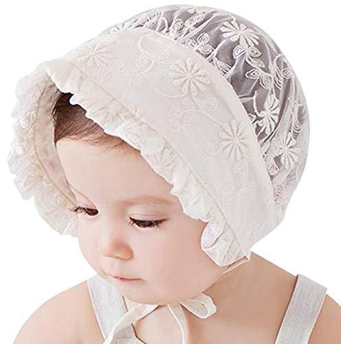 (Newborn Baby Girls Cotton Beret Beanie Hat Cap Sun Bonnet)