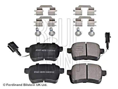 Disc Brake Pad Set Rear compatible with ALFA ROMEO Giulietta 940 77365357