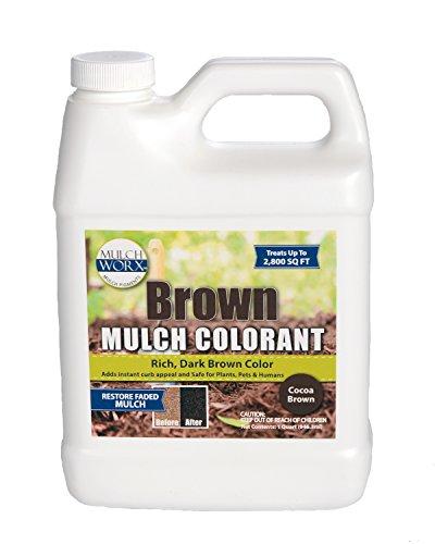 h Color Concentrate - 2,800 Sq. Ft. - Rich Dark Brown Mulch Dye Spray (Mulch Spreader)