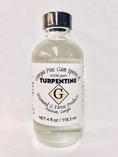 4 Oz 100% Pure Gum Spirits of Turpentine