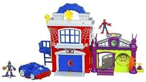 Marvel Spiderman - Spiderman Centro De Operaciones Playskool Heroes (Hasbro) 33078148