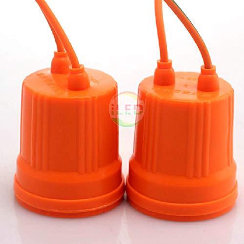Laliva 100pcs/lot E27 Waterproof Lampholder E27 Base Socket Lamp Holder