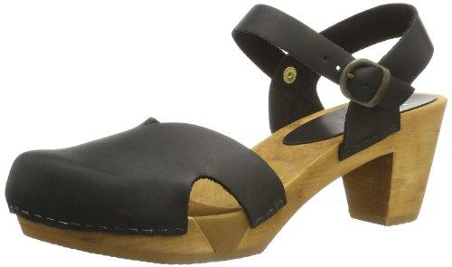 Sanita Matrix Square Flex Sandal, Sandales Ouvertes Femme Noir