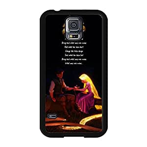 Wonderful Design Cartoon Tangled Phone Case for Samsung Galaxy S5 I9600 Nice Style Disney Comic Tangled Cover Case