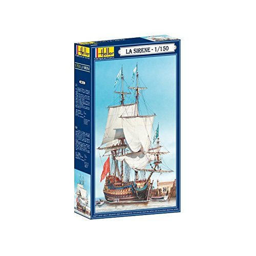 Captains Line Model Ships (Heller Sirene Ship of The Line Boat Model Building Kit)